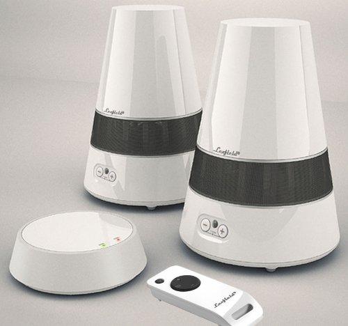 wireless boxen funk lautsprecher spritzwasserfest aktiv ebay. Black Bedroom Furniture Sets. Home Design Ideas
